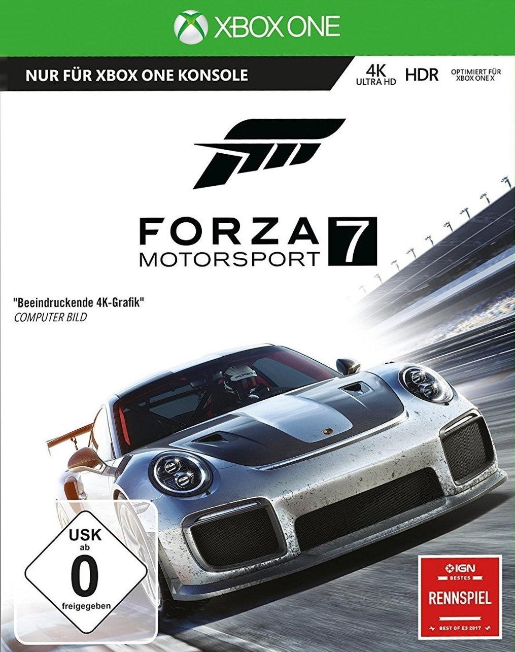 Forza Motorsport 7 (Xbox One) für 19,99€ (Amazon Prime & GameStop)