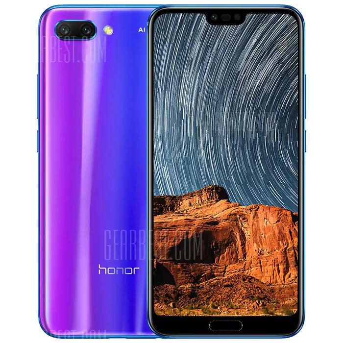 Honor 10 128GB Phantom Blue @Gearbest