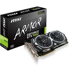 MSI GeForce GTX 1080 ARMOR 8G OC Grafikkarte bei Alternate ZackZack