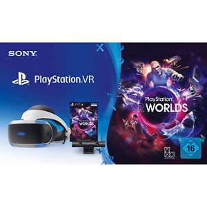 [eBay Saturn] SONY PlayStation VR V2 + Kamera + VR Worlds Voucher Bundle zum Bestpreis