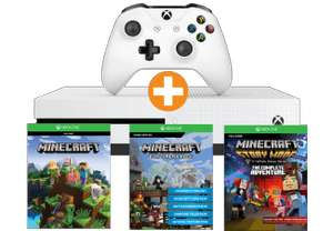 Xbox One S - Minecraft Complete Adventure Bundle + Fifa 18 oder Xbox One S - Starter Bundle + Fifa 18 für je 176,99€ inkl. Versand nach DE (Saturn.at)