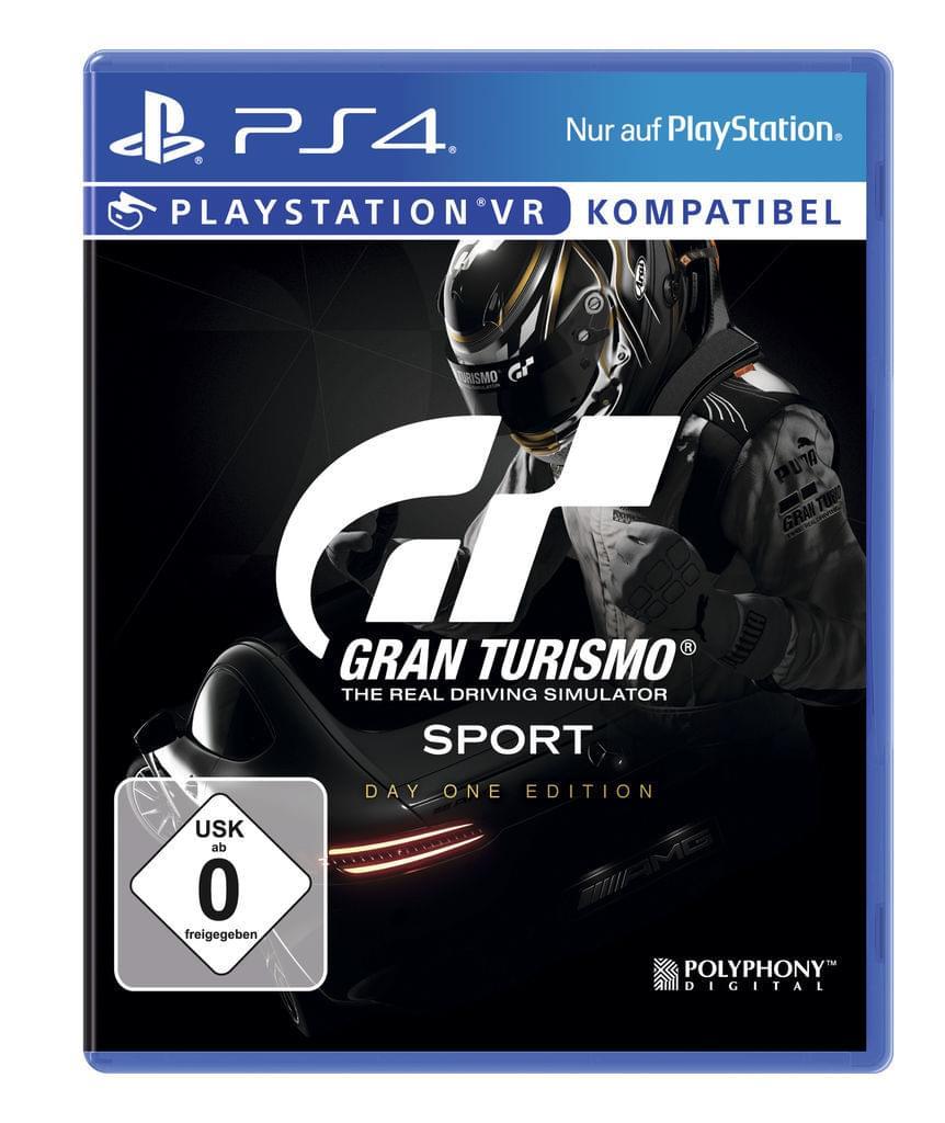 Gran Turismo Sport Day One Edition PS4 für 10€ (Abholung) oder 14,95€ (Versand) bei real