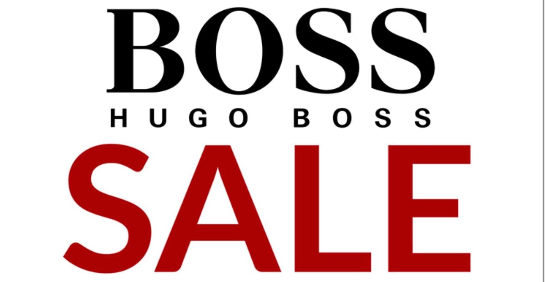 Großer Hugo Boss/ Boss Sale bis zu 70%