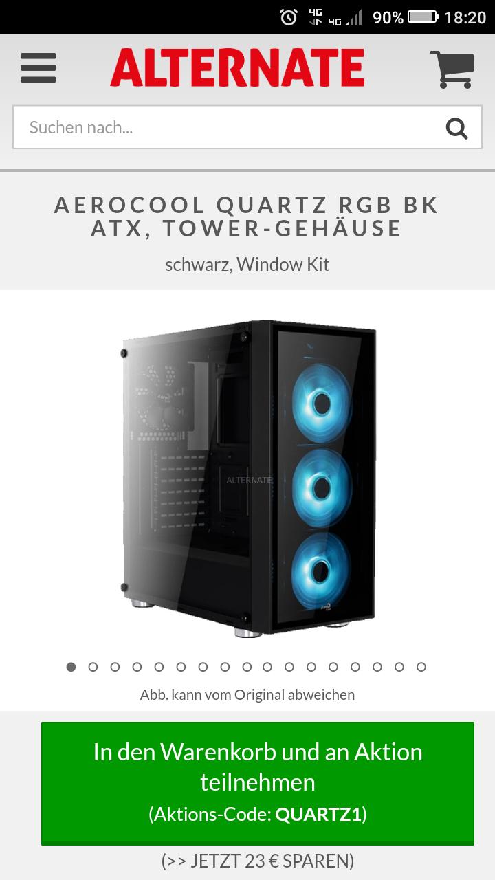 Aerocool Quartz RGB Gehäuse