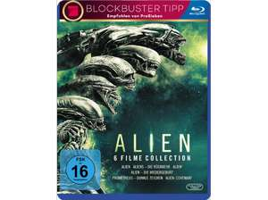 [Mediamarkt] Alien 1-6 Collection [Blu-ray] für 25,-€ Versandkostenfrei
