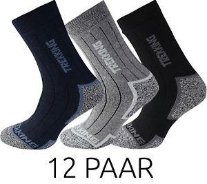 12 Paar primair socks Socken Trekkingsocken Wandersocken Antibakteriell