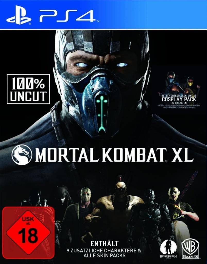 Mortal Kombat XL (PS4) für 15€ versandkostenfrei (Saturn)