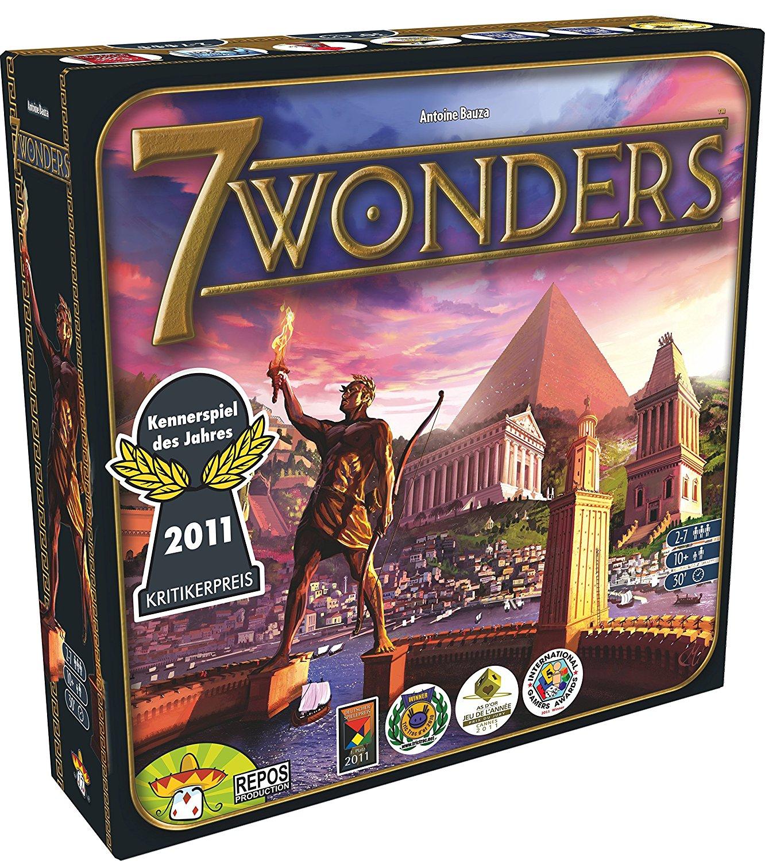 [bol.de] Sammeldeal - 18% Rabatt auf Brettspiele, u.a. 7 Wonders und Village für je 24,59€, Pandemic Legacy und Five Tribes für je 32,79€, Arkham Horror für 31,15€