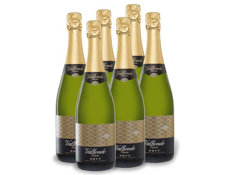 12 Flaschen Valhondo Cava DO Brut Sekt für 37,98€