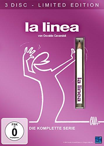 La Linea Limited Edition inkl. Stift (3 Disc Set DVD) für 14,97€ (Amazon Prime)