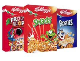[REAL] Kelloggs Frosties / Smacks / Froot Loops 375g für 1,79€