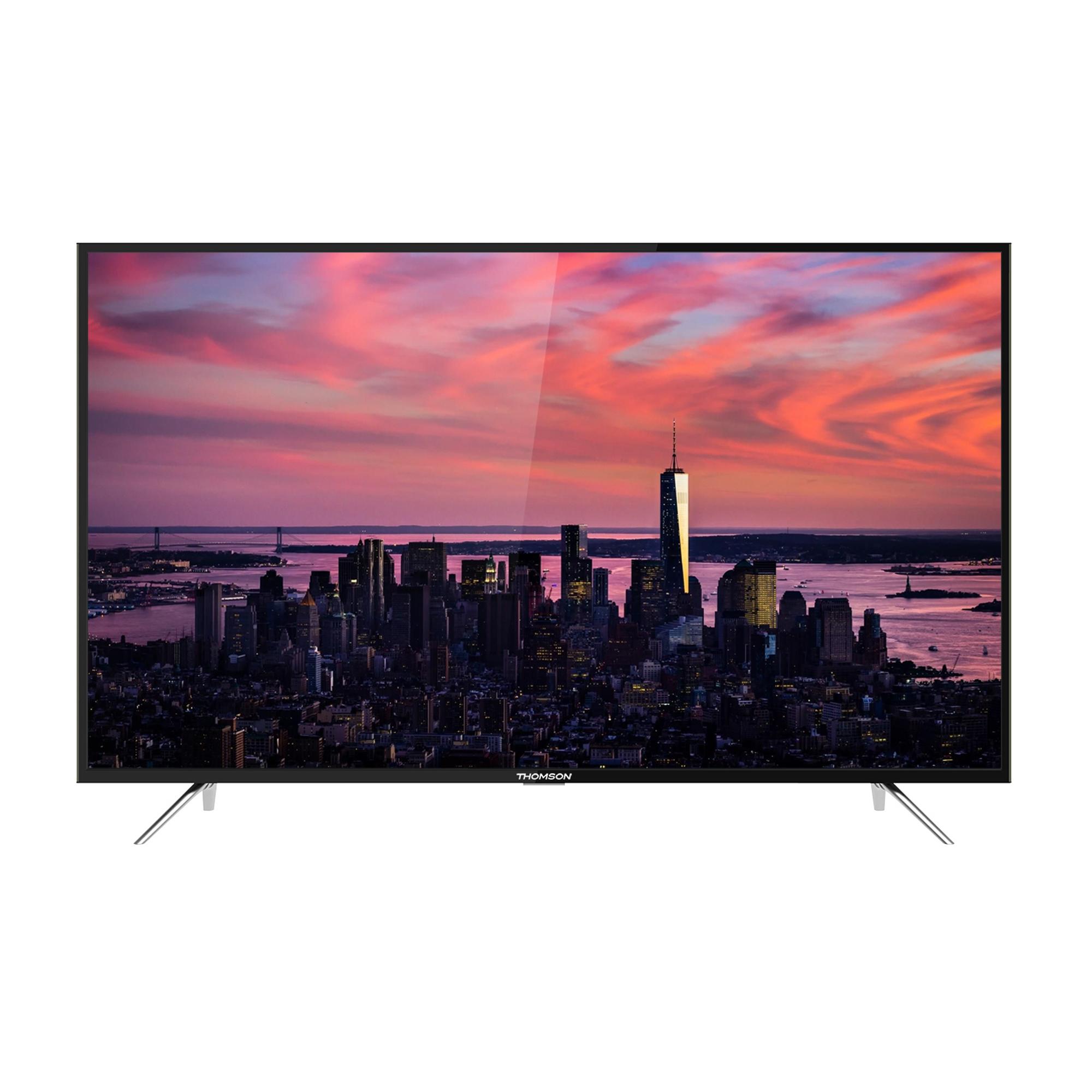 Thomson 55 UC6306 - 139 cm (55 Zoll) Fernseher (4K Ultra HD, HDR 10, Smart TV, WLAN, Triple Tuner (DVB T2), USB)