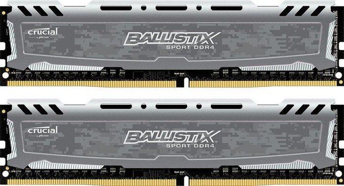 Crucial Ballistix Sport LT 8GB DDR4-2400 CL16 (2x 4GB)  für 59,42€ (NBB)