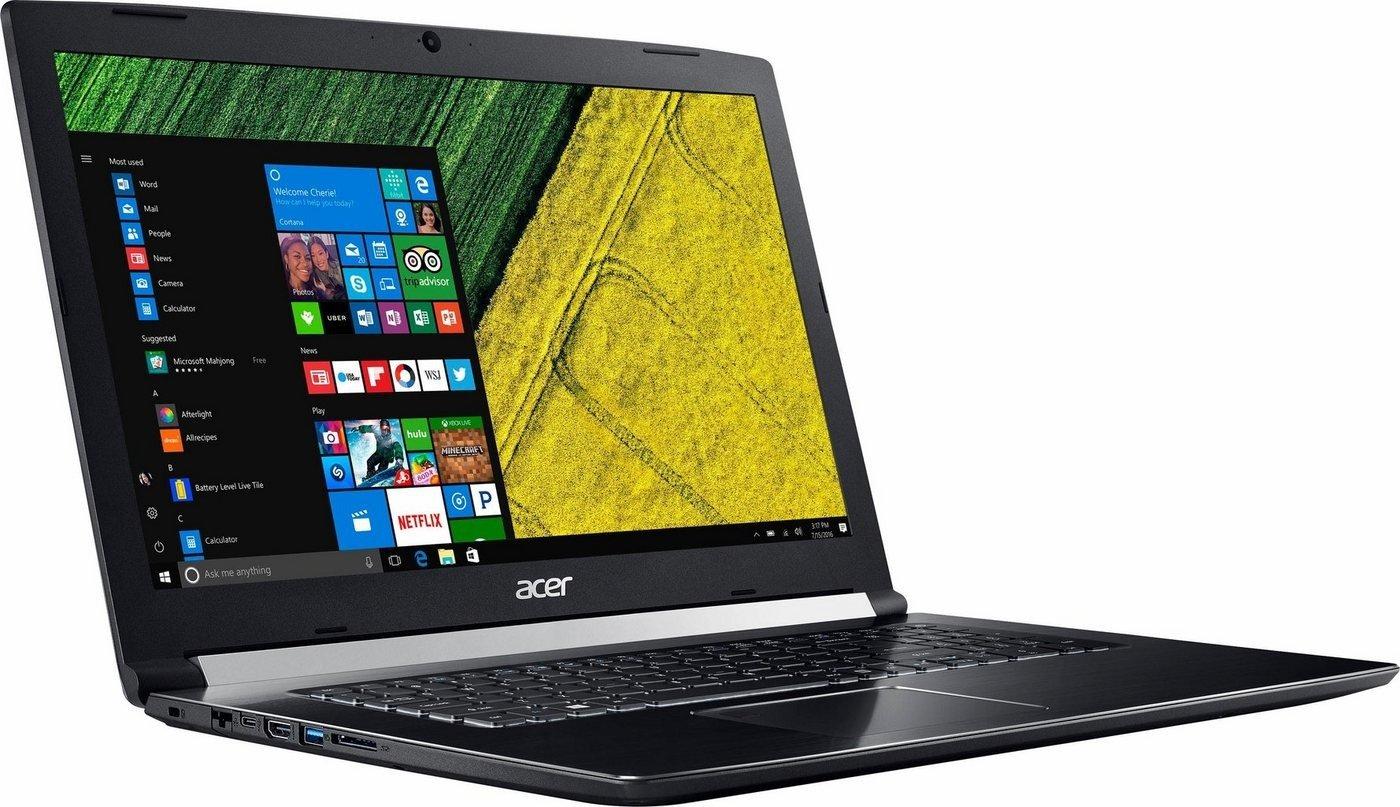 """Acer Aspire 7 Notebook mit 17,3"""" FHD matt, Intel Core i5-7300HQ, GeForce GTX 1060 6GB, 8GB RAM, 1TB HDD, Beleuchtete Tastatur, Windows 10 für 806,65€ (NBB)"""