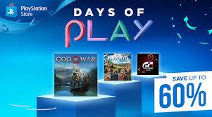 Playstation Days of Play - Die besten PS4 Angebote (PSN)