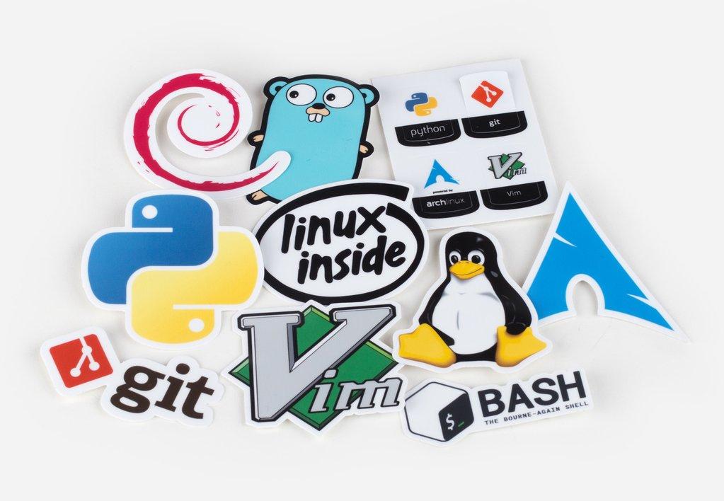 Unixstickers.com - Sticker Pack