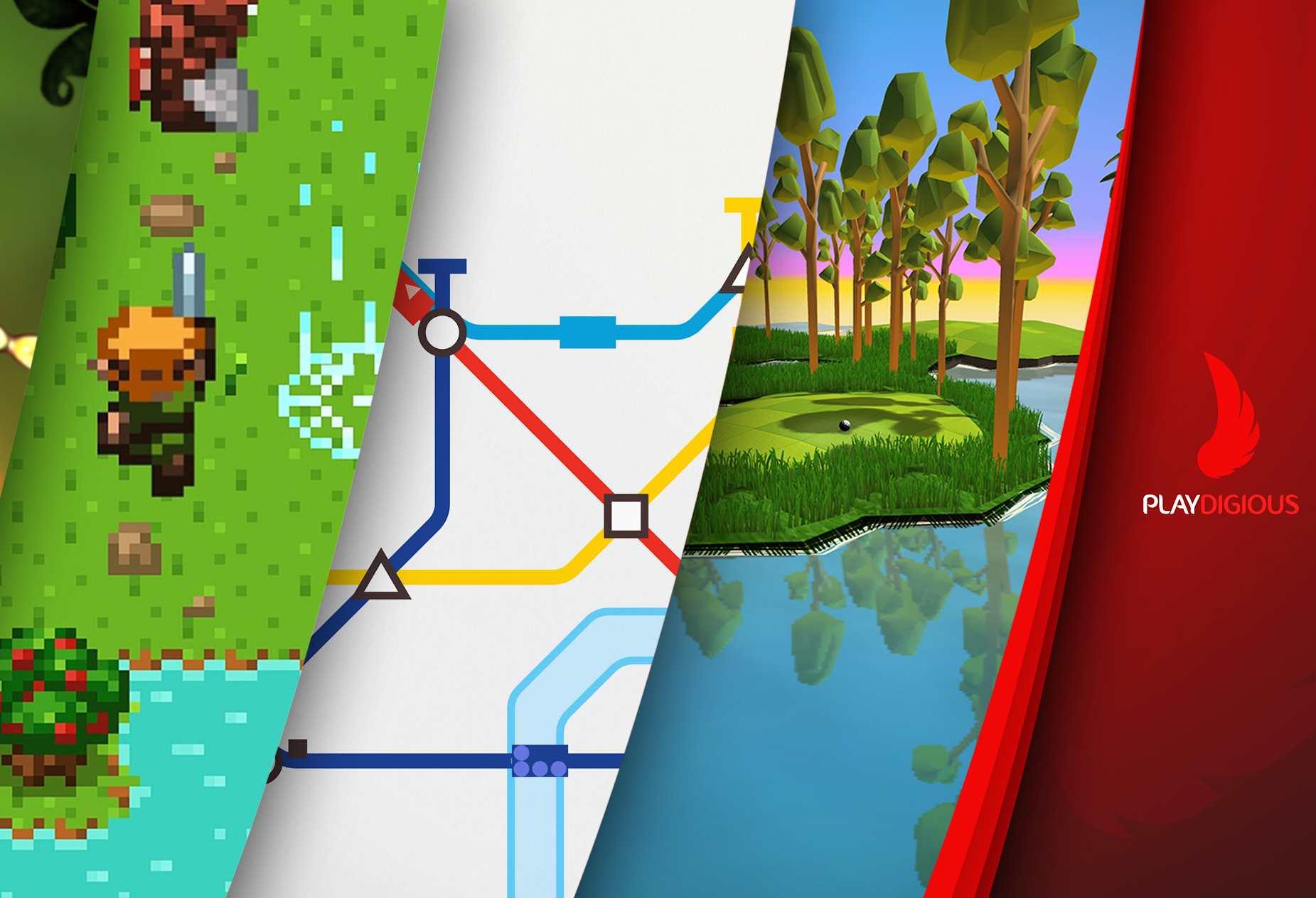 [Google Play] Mini Metro für 2,09€, Evoland für 0,59€, OK Golf für 0,59€ - Playdigious-Angebote Android