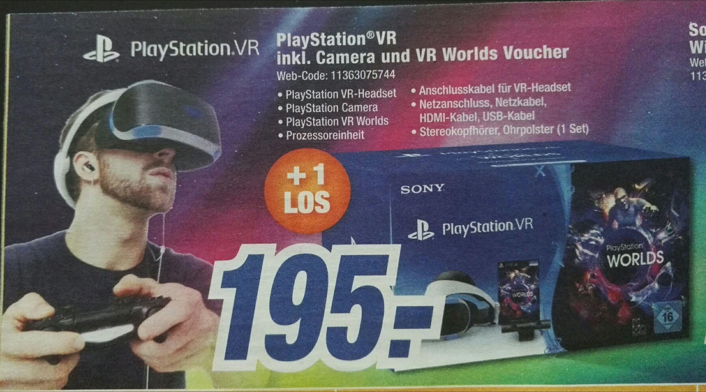 (Lokal Oberfranken) Playstation VR inkl Camera und  VR Worlds