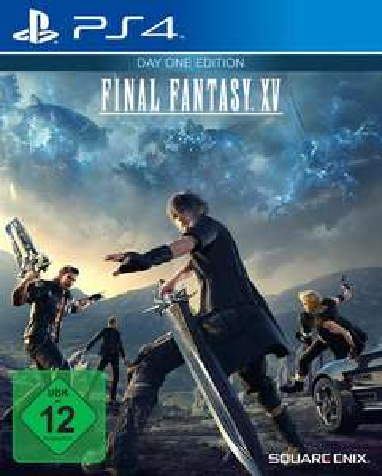 Final Fantasy XV - Day One Edition (PS4) für 11,99€ (GameStop & Amazon Prime)