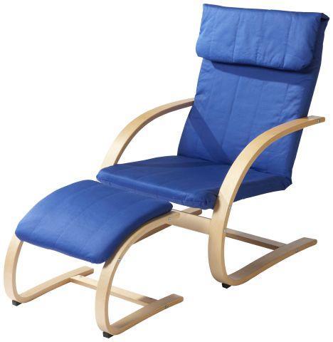 schwingsessel mit hocker f r 23 40 vsk bei neckermann. Black Bedroom Furniture Sets. Home Design Ideas