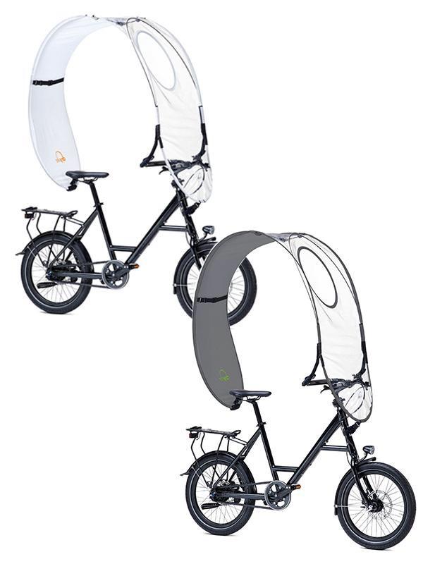 2x Dryve Fahrrad-Regenschutz