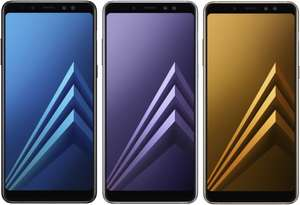 [universal.at] Samsung Galaxy A8 (2018) DUOS 5,6 Super AMOLED Infinity Display für 273,20€ + Versand nach D