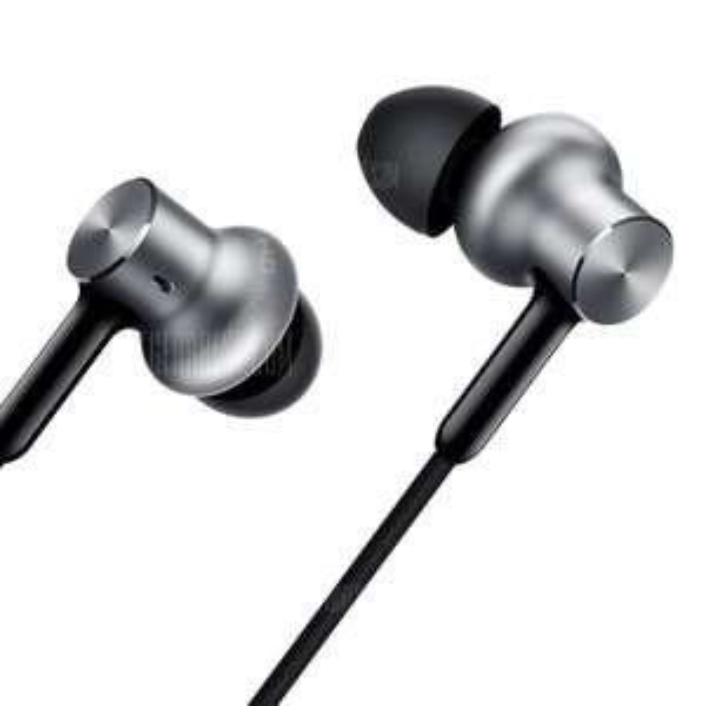 Original Xiaomi Pro HD In-ear Hybrid Earphones - SILVER