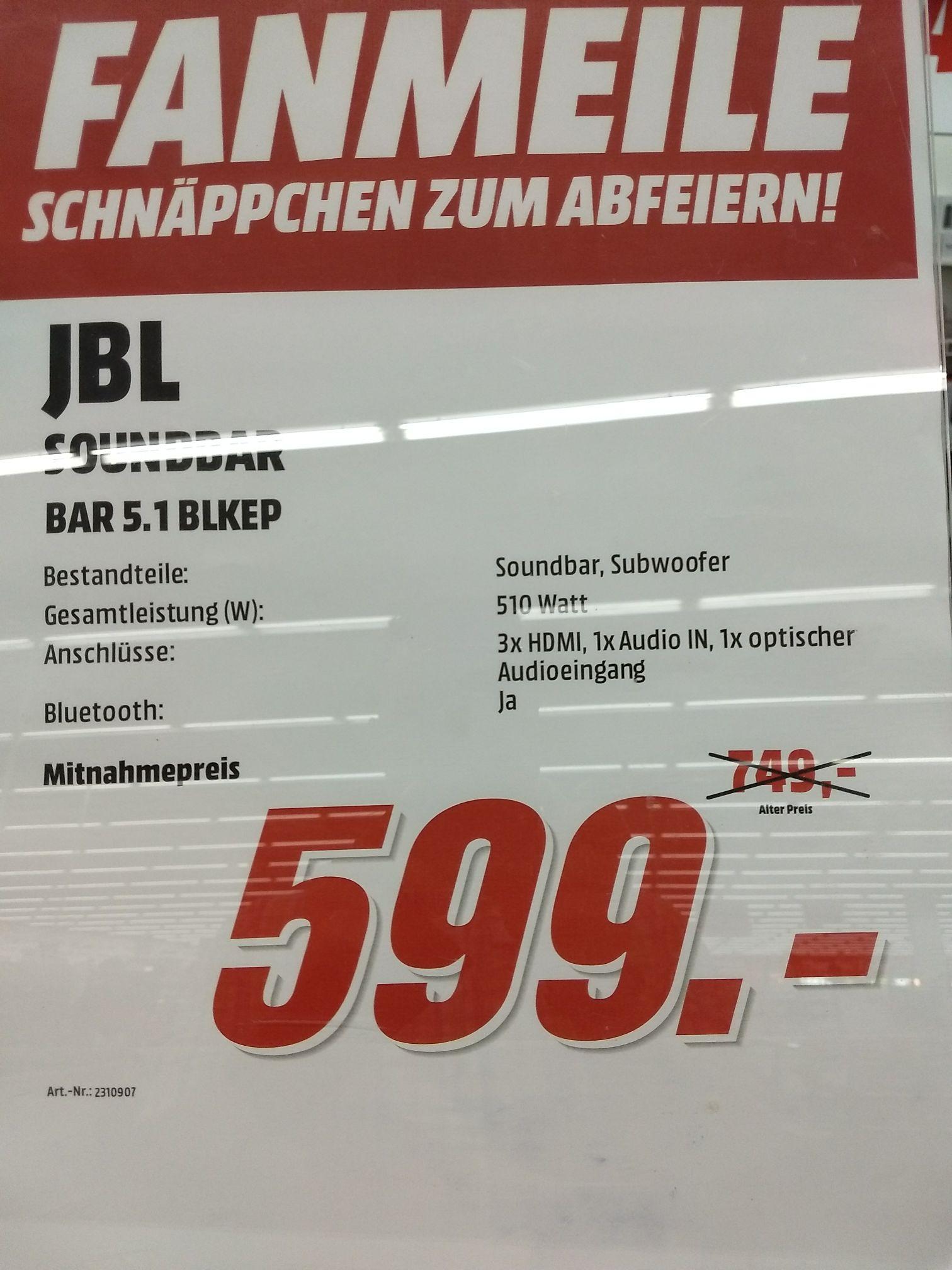 JBL Bar 5.1 Lokal Media Markt Elmshorn