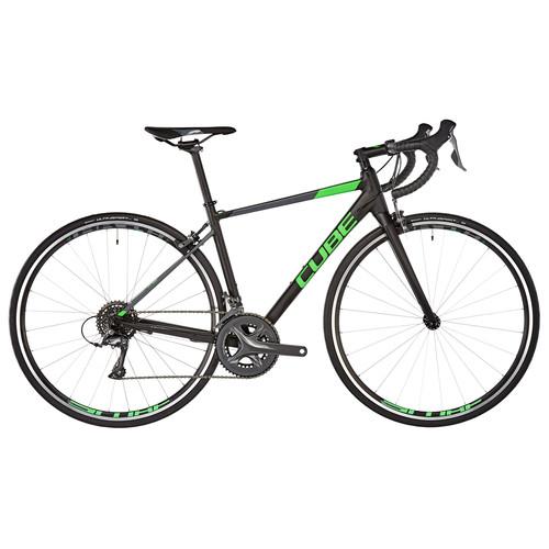 [Fahrrad.de] 20% auf alle CUBE-Fahrräder ab 749€ - z.B. Cube Attain Black'n'Flashgreen Rennrad (2018) für 599€ statt 711€