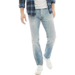 "Großer Jack & Jones-Sale be""Tim Original 987"" Jeans in Slim Passform Hellblau"