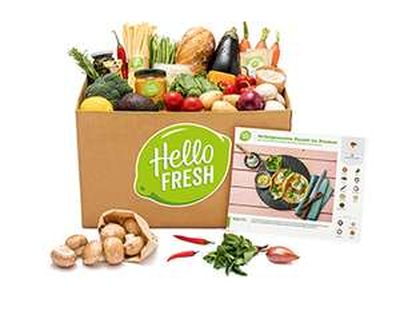 50% auf Classic/Veggie HelloFresh Box - 1. Bestellung - 2,90€ pro Person + Gericht