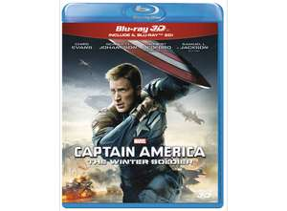 [Blu-Ray] Captain America - The Winter Soldier - 3D+2D IT-Import mit DE Ton [DODAX]