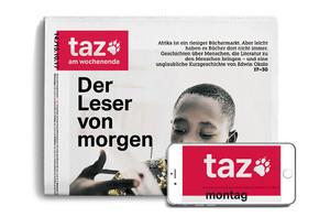 10 Wochen taz lesen - ePaper und gedruckte taz am Wochenende