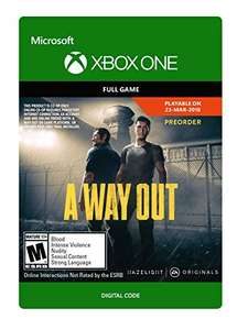 A Way Out (Xbox One Digital Code) für 16,57€ (Amazon US)