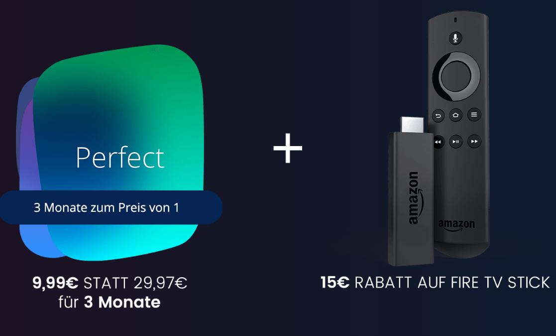 Neukunden: 3 Monate Waipu.tv für 9,99€ (insgesamt) + 24,99€ für FireTV Stick 2. Gen bei Abholung im Mobilcom-debitel Shop