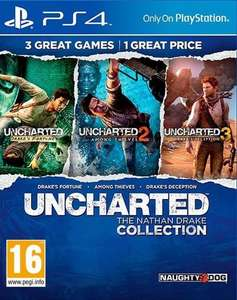 Uncharted: The Nathan Drake Collection (PS4) für 21,95€ [Coolshop.de]