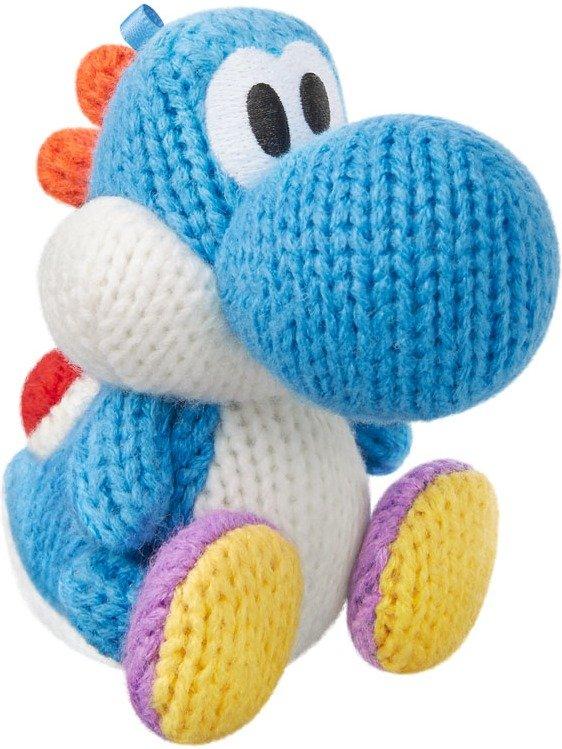 Nintendo amiibo Figur (Yoshi's Woolly Hellblau) für 7,99€ & (Pink) für 9,99€ (GameStop & Müller)