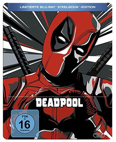 Deadpool Steelbook Limited Edition (Blu-ray) für 12,74€ (Amazon Prime)