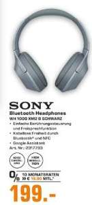 [Regional Saturn Düsseldorf / Neuss] SONY-WH-1000XM2-Over-ear-Kopfhoerer-Near-Field-Communication-Headsetfunktion für 199,-€