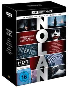 [saturn] NOLAN COLLECTION 4K UHD + DIGITAL ULTRAVIOLET - (4K ULTRA HD BLU-RAY + BLU-RAY)