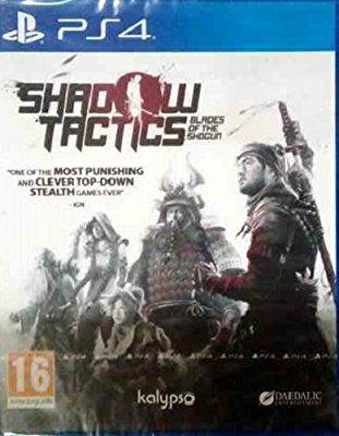 Shadow Tactics: Blades of the Shogun (PS4) (Amazon Prime)