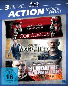 Coriolanus + McCarnick + Blood of Redemption (3x Blu-ray) für 4,32€ (Dodax + Amazon)