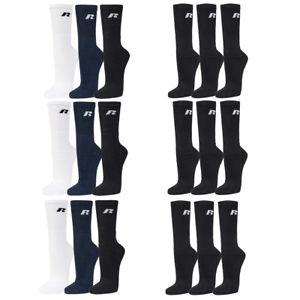 Russell Athletic Herren Socken 9-er Pack