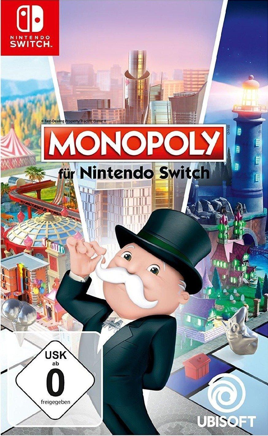 Monopoly (Switch) für 22,98€ bzw. 18,98€ 100 Ubisoft Punkte (Ubisoft Store)