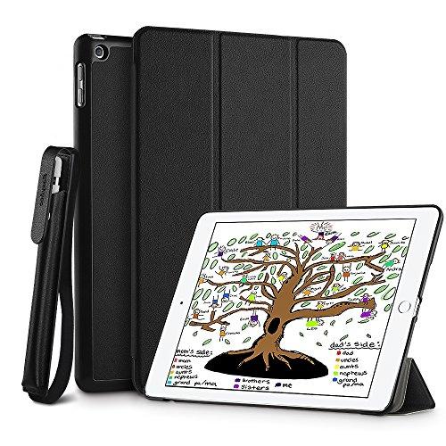 EasyAcc iPad 9.7 Hülle + Apple Pencil Halter + Schutzfolie