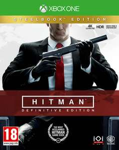 Hitman: Definitive Edition Steelbook Edition (Xbox One & PS4) für je 33,99€ (ShopTo)
