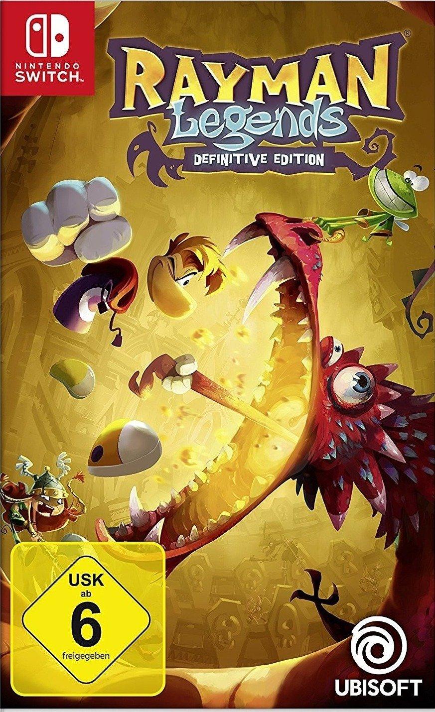 Rayman Legends: Definitive Edition (Switch) für 26,99€ & NBA 2K18 (Switch) für 15,99€ (eBay)