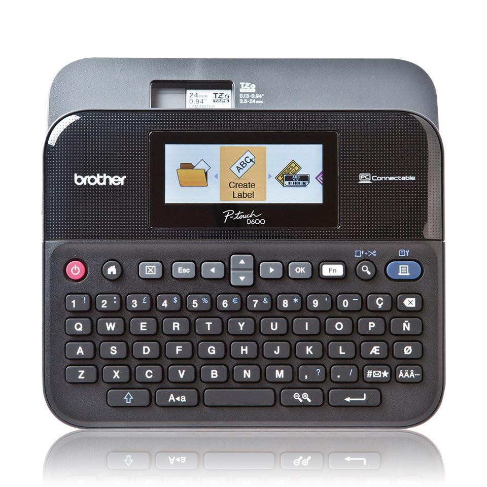 Brother P-Touch Beschriftungsgerät PT-D600VP (Etikettendrucker) im Koffer [Notebooksbilliger]
