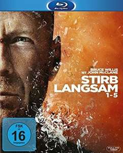 Stirb langsam 1-5 [Blu-ray] (Amazon Prime)