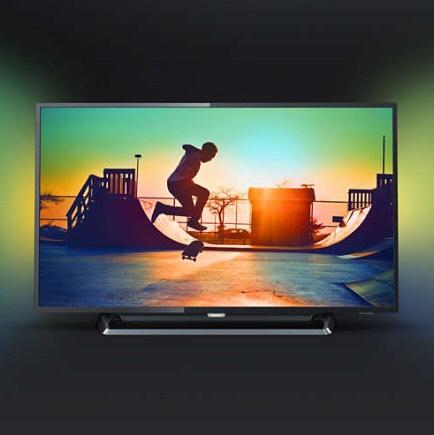 PHILIPS 43PUS6262 43 Zoll 4K UHD Ambilight HDR plus Smart TV - Bester Preis nach Idealo-Preisverlauf